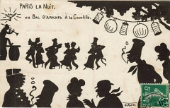 bal à la Courtille, 1910