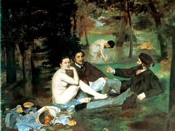 Le Déjeuner sur l'Herbe, de Manet