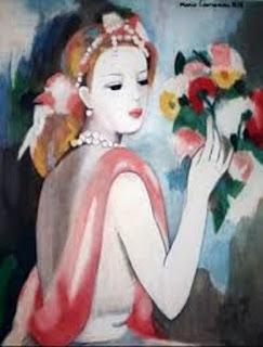 poésie,Marie Laurencin,aquarelle,exsudat,trabboule,ombre,quatre saisons
