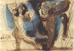 bacchanales, d'après Picasso